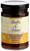 Fischer & Wieser Jelly - Strawberry & Rhubarb -10.9oz