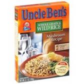 Uncle Bens Whole Grain Wild Rice Mushroom Recipe-6.7 oz