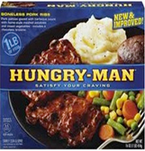 Hungry Man - Boneless Pork Ribs -1 meal