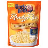 Uncle Ben's Ready Rice (Just Microwave) -  Butter & Garlic-8.5oz