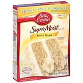 Betty Crocker Supper Moist Butter Pecan Cake Mix -18.25 oz