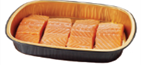 Store Brand Oven Ready Salmon Portions - 4 Count