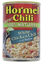 Hormel Natural White Chicken Chili With Beans, 15 OZ