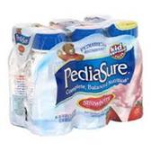 Pediasure Strawberry Nutritional Drink-6/6oz