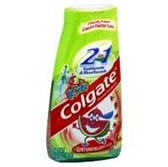 Colgate 2 In 1 Kids Watermelon Toothpaste - 4.6 Oz