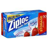 Ziploc Bags Food Storage Quart - 25 Count