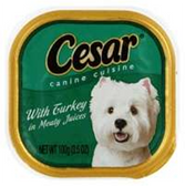 Cesar Turkey Dog Food - 3.5 Oz