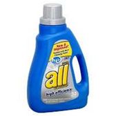 All Oxi-Active/Waterfall Clean Liquid UltraDetergent HeCompati