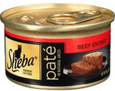 Sheba PremiumPate Beef Entrée -3.oz