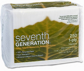 Seventh Generation Dinner Napkins -250ct