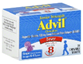 Advil Junior Fever /Pain Reliever Ibuprofen 100mg age 6-11Chewab