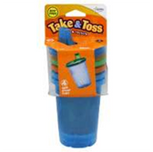 First Years Take and Toss 10 oz Spill Proof Cups