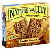 Nature Valley Roasted Almond Crunchy Granola Bar -6 pk
