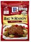 McCormick Bag 'N Season Meat Loaf Cooking Bag&Seasoning Mix,1.37