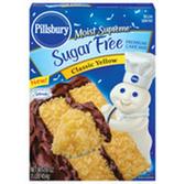 Pillsbury Moist Supreme SugarFree Classic Yellow CakeMix-18.25oz