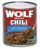 Wolf No Beans Chili, 19 OZ