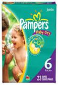 Pamper's Baby Dry 35+ lb. -23ct