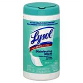 Lysol Citrus Scent Sanitizing Wipes -35 ct