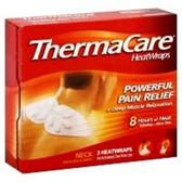 Thermacare Neck / Shoulder/ Wrist Heat Wrap - 3 Count