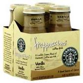Starbucks Vanilla Frappaccino Lite Iced Coffee -4 pk