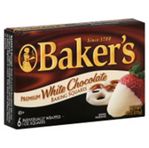 Baker's Baking Squares White Chocolate - 8 oz