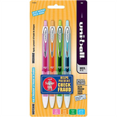 Retractable Medium Point Gel Pens - 4 Ct