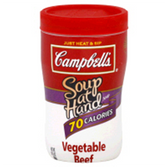 Campbell's - Soup at Hand -  Vegetable Beef -10.75 oz