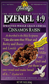 Food For Life Ezekiel 4:9 - Cinnamon Raisin -16.oz