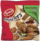 Tyson Frozen Anytizers Tequila Lime Chicken Wings-10 oz