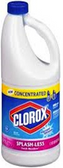Clorox - Splashless Bleach - Fresh Meadow -55oz