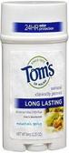 Tom's of Maine Long Lasting - Mountain Spring Deodorant - ea