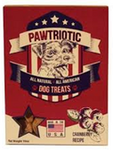 Pawtriotic All Natural Cramberry Recipe Dog Treat-16oz