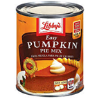 Libby's Pumpkin Pie Filling -21 oz