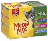 Meow Mix Seafood -24ct