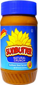 Sun Butter Sunflower Seed Spread - Natural Crunch -16oz