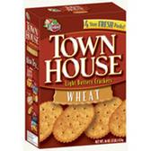Keebler Town House Original Flip Sides Pretzel Crackers, 9.2 OZ