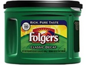 Folgers Classic Coffee - Decaf, 32 oz