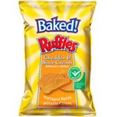 Ruffles Baked Cheddar & Sour Cream Potato Chips-9 oz