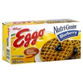 Kellogg's Eggo Waffles Nutri -Grain Whole Wheat -10 ct