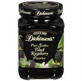 Dickinson's Preserves Pure Seedless Black Raspberry -10 oz