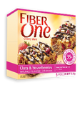 Fiber One Chewy Bars - Oats & Strawberry -5 bars