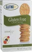 Glutino Crackers - Vegetable -4.4oz
