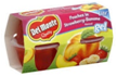 Del Monte - Peaches in Strawberry Lemonade Gel -4ct