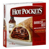 Hot Pockets Barbecue Beef Frozen Food -9oz