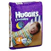 Huggies Overnites Diapers Size 4