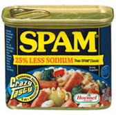 Spam 25% Less Sodium Canned Meat -12 oz