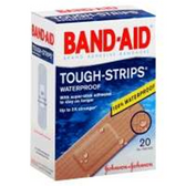 Johnson & Johnson Band Aid Tough Strips Waterproof Adhesive-20ct