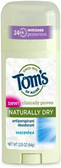 Tom's of Maine Naturally Dry - Unscented  Deodorant - ea