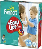 Pamper's Boys Easy Ups 2T - 3T -72ct