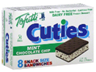 Tofutti Cuties Snack Size Mint Chocolate Chip Sandwiches, 8ct